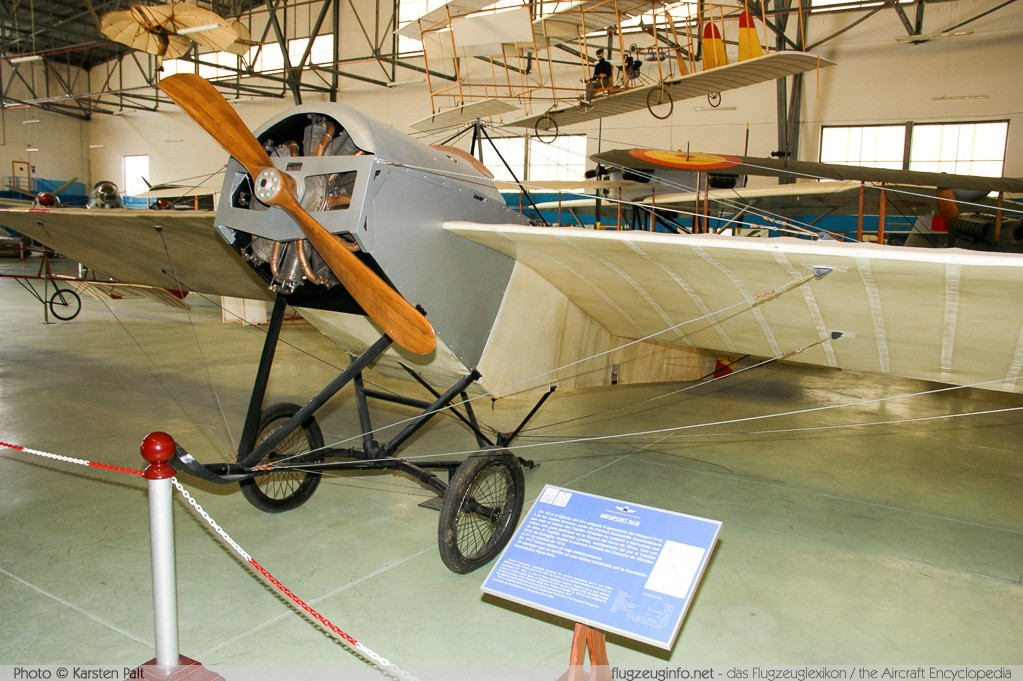 Nieuport IV-G Spanish Air Force   Museo del Aire Madrid 2014-10-23 � Karsten Palt, ID 10716