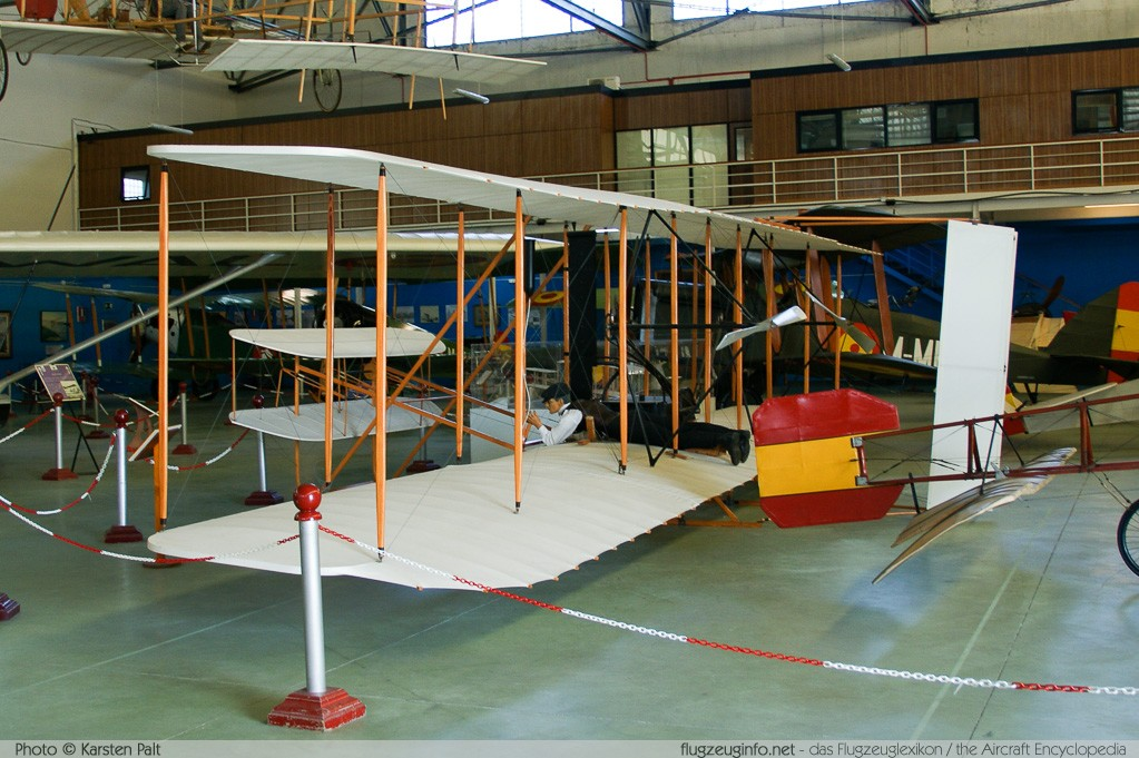 Wright Flyer I    Museo del Aire Madrid 2014-10-23 � Karsten Palt, ID 10746