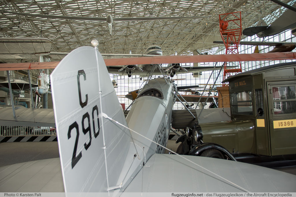 Boeing 40B    Museum of Flight Seattle, WA 2016-04-12 � Karsten Palt, ID 12400