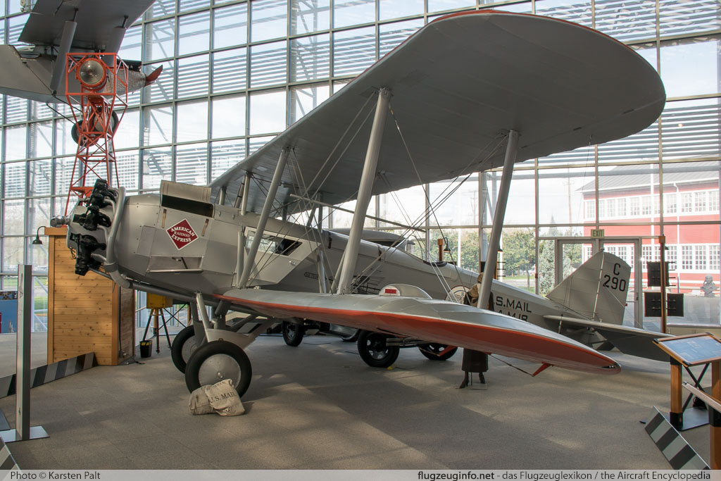 Boeing 40B    Museum of Flight Seattle, WA 2016-04-12 � Karsten Palt, ID 12399