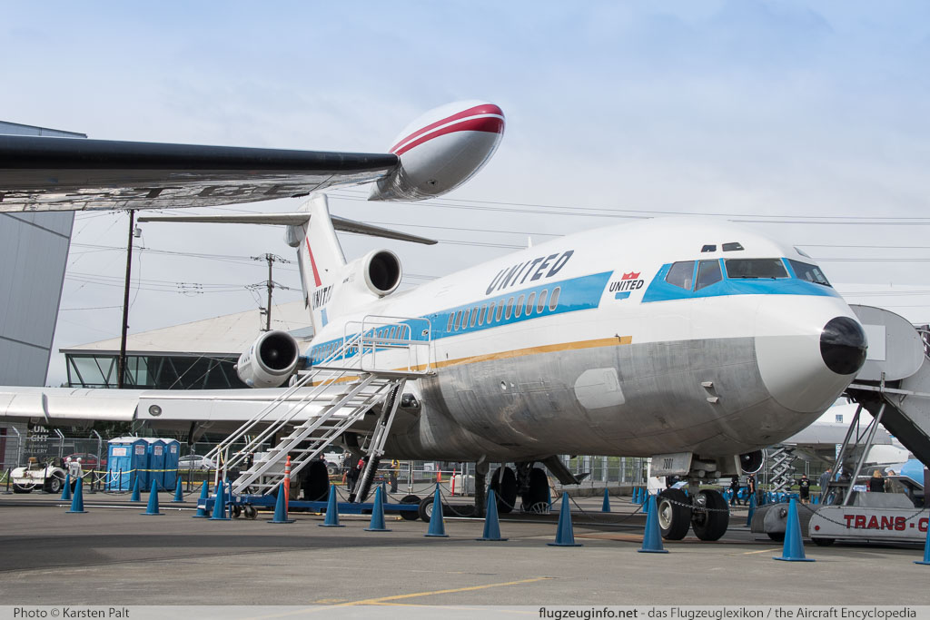 Boeing 727-22 United Airlines N7001U 18293 / 1 Museum of Flight Seattle, WA 2016-04-12 � Karsten Palt, ID 12401
