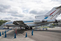 Boeing 727-22 United Airlines N7001U 18293 / 1 Museum of Flight Seattle, WA 2016-04-12, Photo by: Karsten Palt