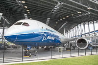 Boeing 787-8 Dreamliner Boeing N787BX 40692 / 3 Museum of Flight Seattle, WA 2016-04-12, Photo by: Karsten Palt