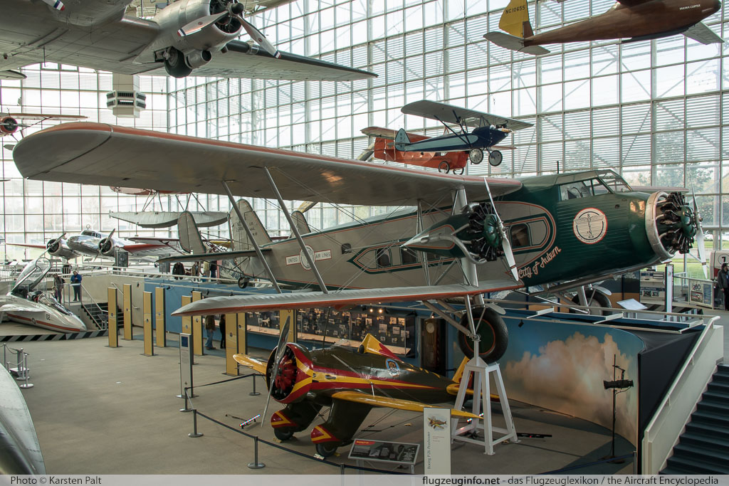 Boeing 80A-1 United Air Lines NC224M 1082 Museum of Flight Seattle, WA 2016-04-12 � Karsten Palt, ID 12407