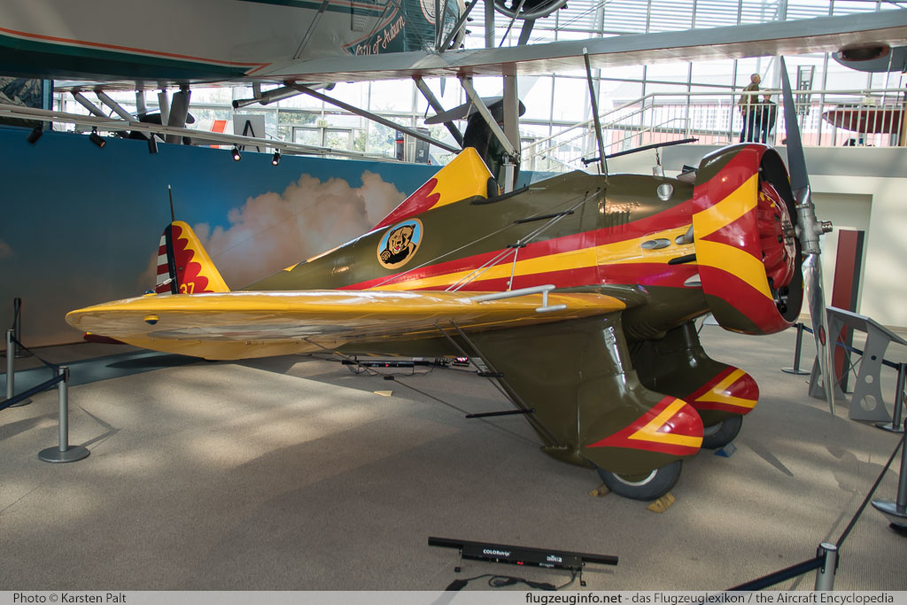 Boeing P-26 Peashooter    Museum of Flight Seattle, WA 2016-04-12 � Karsten Palt, ID 12413
