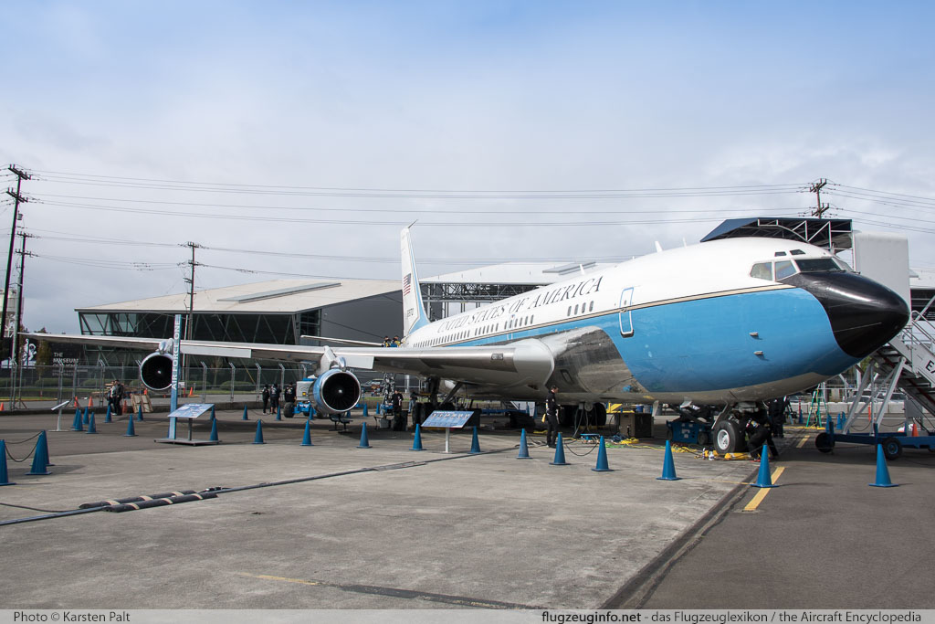 Boeing VC-137B (707-153B) United States Air Force (USAF) 58-6970 17925 / 33 Museum of Flight Seattle, WA 2016-04-12 � Karsten Palt, ID 12414