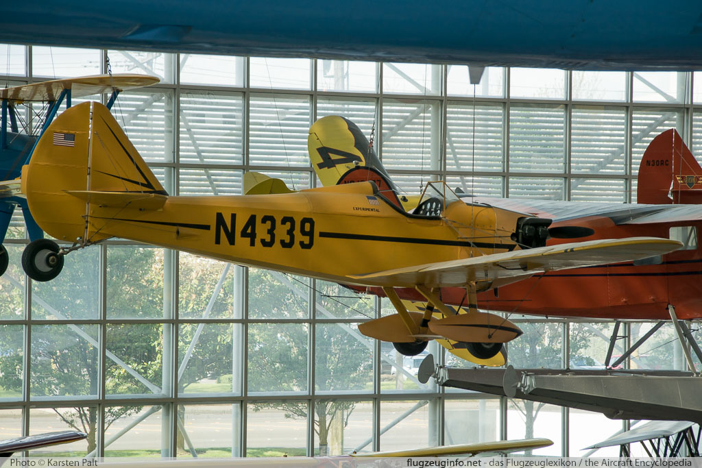 Bowers Fly Baby 1a  N4339 68-15 Museum of Flight Seattle, WA 2016-04-12 � Karsten Palt, ID 12415