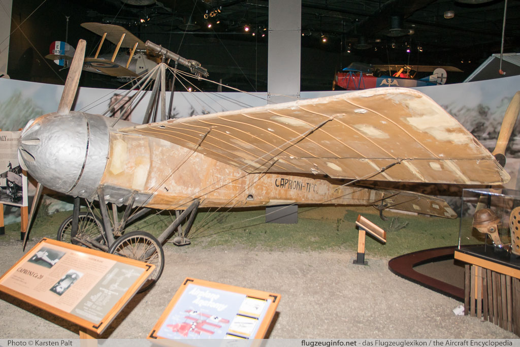 Caproni Ca.20   1 Museum of Flight Seattle, WA 2016-04-12 � Karsten Palt, ID 12418