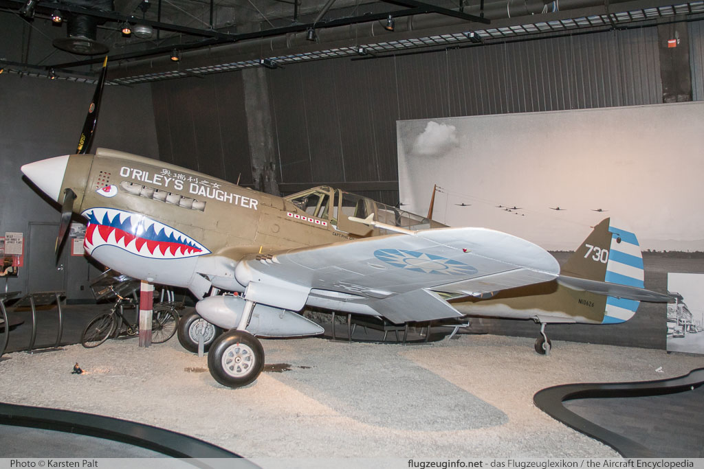 Curtiss P-40N Warhawk  NL10626 32932 Museum of Flight Seattle, WA 2016-04-12 � Karsten Palt, ID 12421