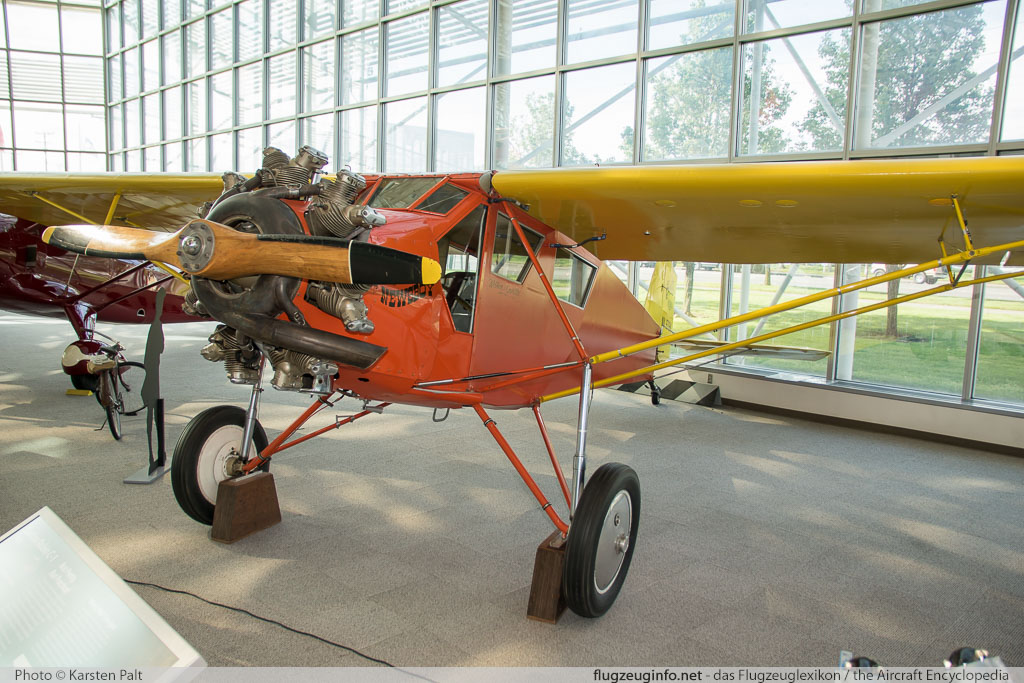 Curtiss Robin C-1  NX979K 628 Museum of Flight Seattle, WA 2016-04-12 � Karsten Palt, ID 12422