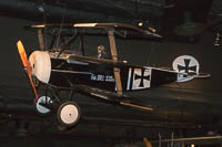 Fokker Dr.I Dreidecker  NX2203  Museum of Flight Seattle, WA 2016-04-12, Photo by: Karsten Palt