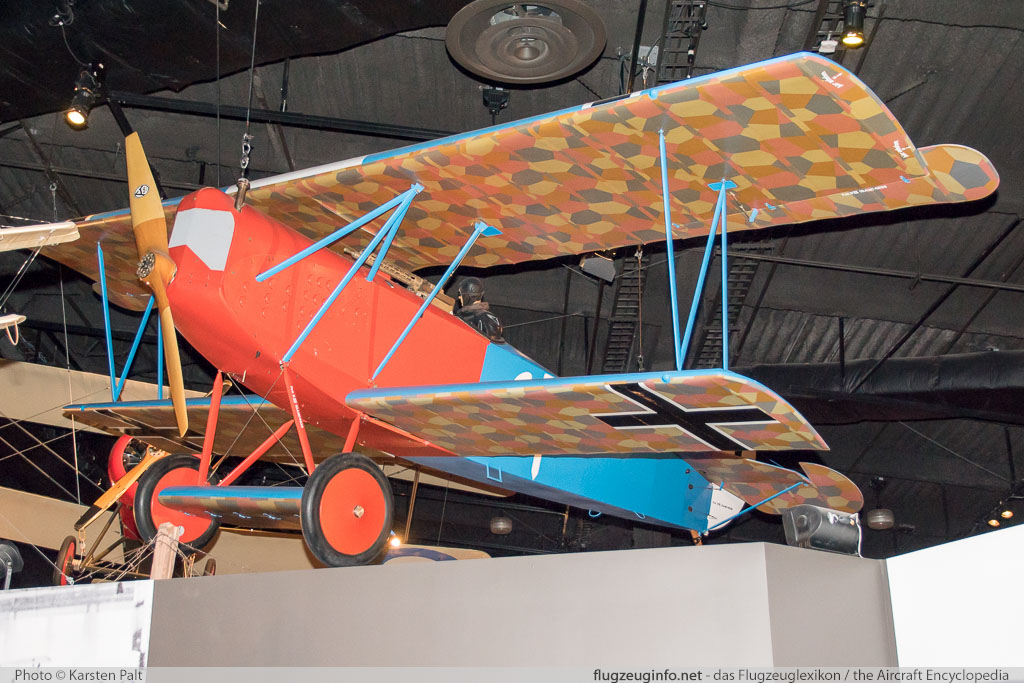Fokker D.VII  N38038  Museum of Flight Seattle, WA 2016-04-12 � Karsten Palt, ID 12429