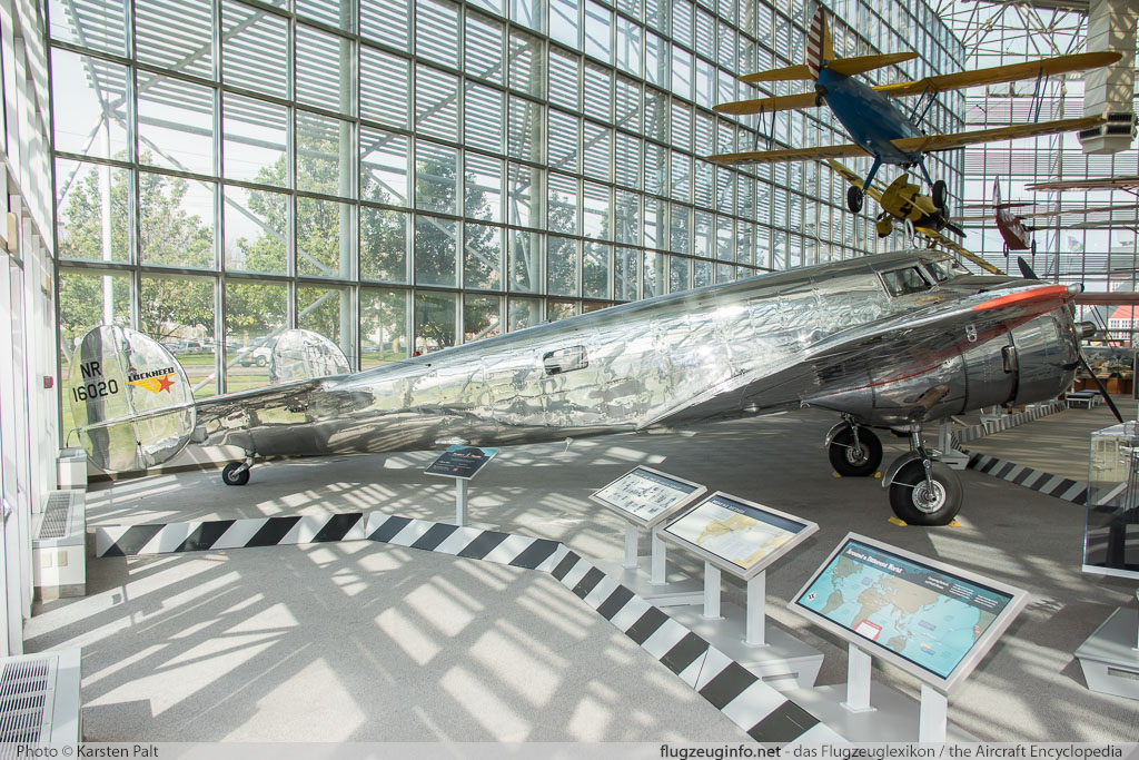 Lockheed 10 Electra  N72GT 1015 Museum of Flight Seattle, WA 2016-04-12 � Karsten Palt, ID 12438