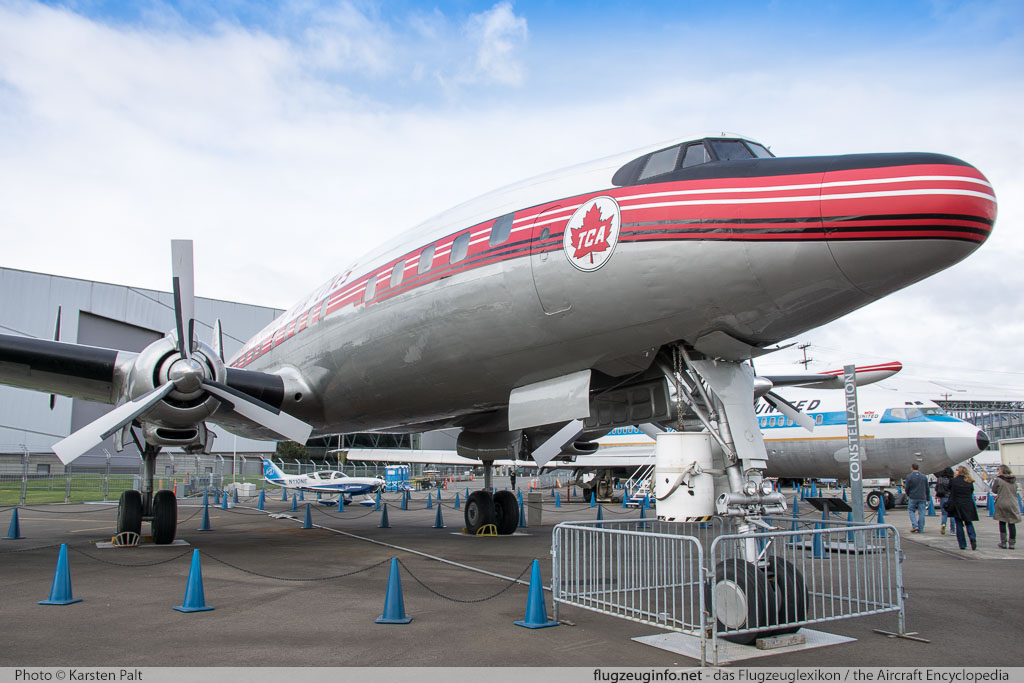 Lockheed L-1049G Super Constellation Trans-Canada Air Lines CF-TGE 4544 Museum of Flight Seattle, WA 2016-04-12 � Karsten Palt, ID 12442