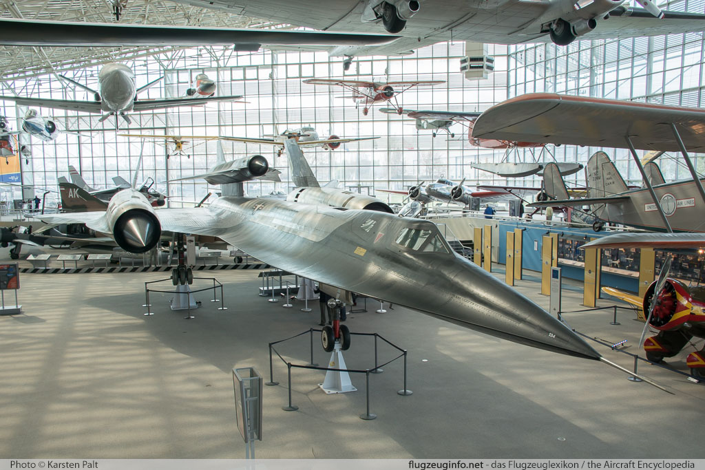 Lockheed M-12 United States Air Force (USAF) 60-6940 134 Museum of Flight Seattle, WA 2016-04-12 � Karsten Palt, ID 12443