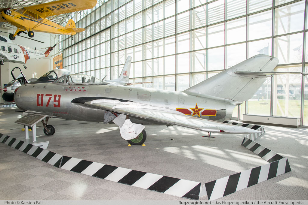 Mikoyan Gurevich MiG-15bis Peoples Liberation Army Air Force 124079 124079 Museum of Flight Seattle, WA 2016-04-12 � Karsten Palt, ID 12451