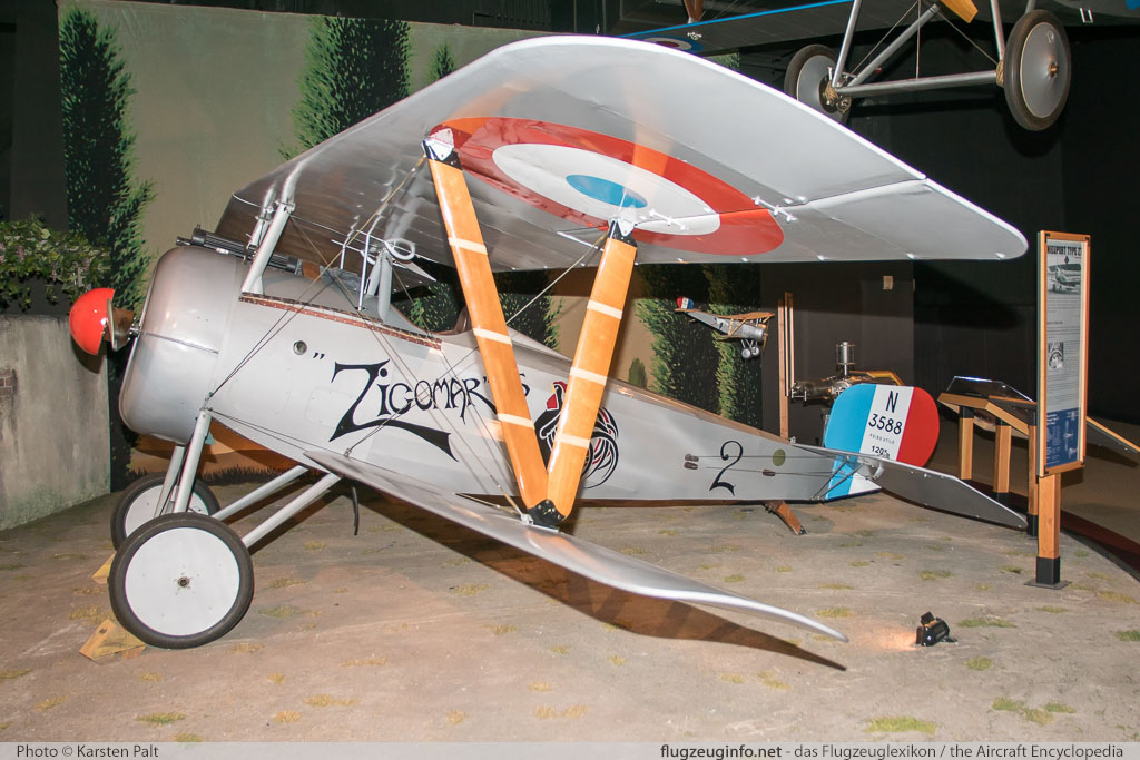 Nieuport 24bis  N24RI  Museum of Flight Seattle, WA 2016-04-12 � Karsten Palt, ID 12456