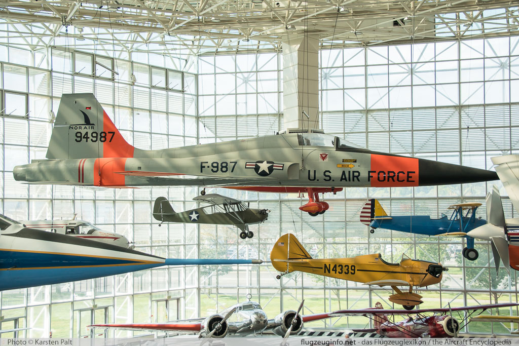 Northrop YF-5A Freedom Fighter United States Air Force (USAF) 59-4987 N6001 Museum of Flight Seattle, WA 2016-04-12 � Karsten Palt, ID 12461