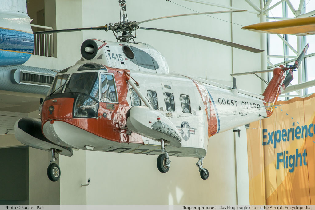 Sikorsky HH-52A Seaguard United States Coast Guard 1415 62-099 Museum of Flight Seattle, WA 2016-04-12 � Karsten Palt, ID 12470