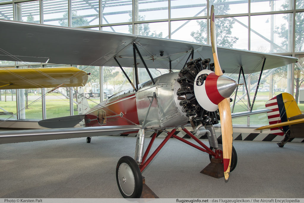 Stearman C3B Western Air Express NC7550 166 Museum of Flight Seattle, WA 2016-04-12 � Karsten Palt, ID 12476
