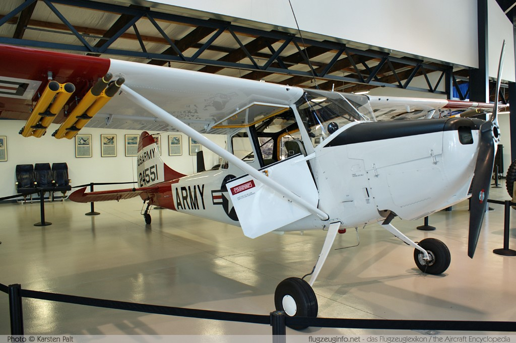 Cessna O-1E Bird Dog (305C)  N919BD 24551 Museum of Flying Santa Monica, CA 2012-06-10 � Karsten Palt, ID 5857