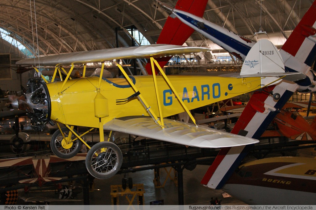Arrow Sport A2-60  G-AARO 341 NASM Udvar Hazy Center Chantilly, VA 2014-05-28 � Karsten Palt, ID 10209