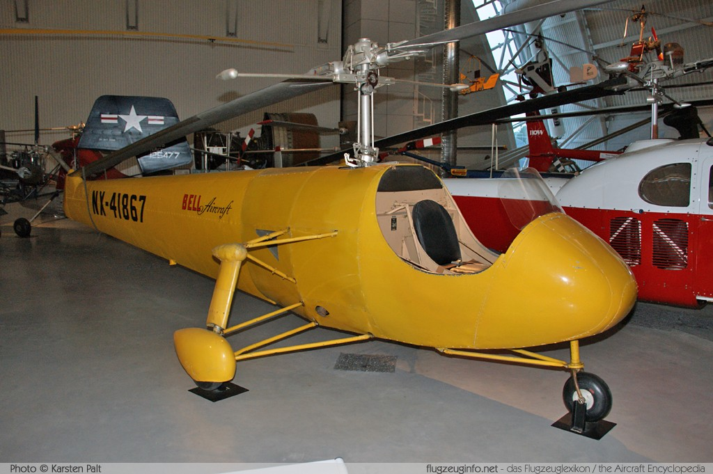 Bell Helicopter Bell 30  NX41867 1A NASM Udvar Hazy Center Chantilly, VA 2014-05-28 � Karsten Palt, ID 10216