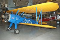 Boeing / Stearman PT-13D Kaydet United States Army Air Forces (USAAF) N36360 75-5887 NASM Udvar Hazy Center Chantilly, VA 2014-05-28, Photo by: Karsten Palt