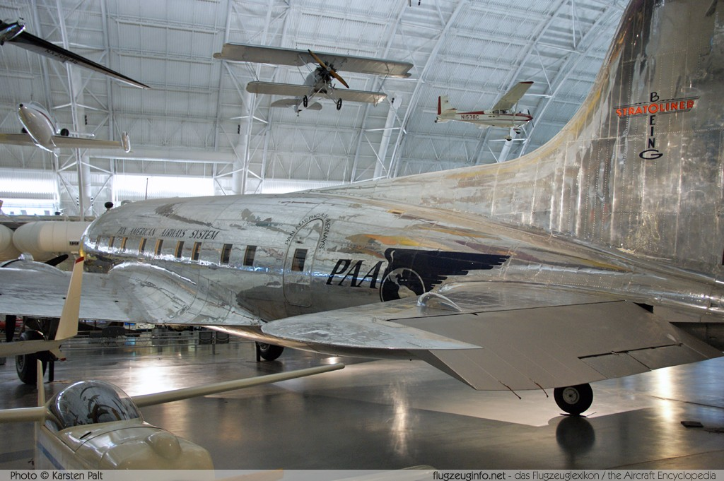 Boeing 307B Stratoliner Pan American Airways System - PAA NC19903 2003 NASM Udvar Hazy Center Chantilly, VA 2014-05-28 � Karsten Palt, ID 10227