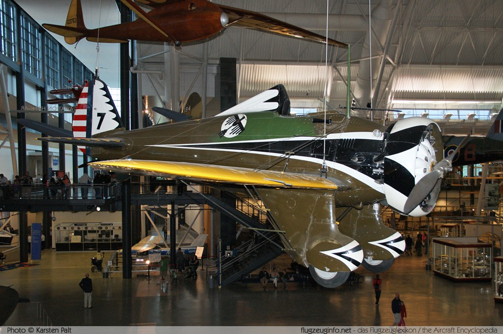 Boeing P-26A Peashooter United States Army Air Corps (USAAC)  7 33-135 NASM Udvar Hazy Center Chantilly, VA 2014-05-28 � Karsten Palt, ID 10234