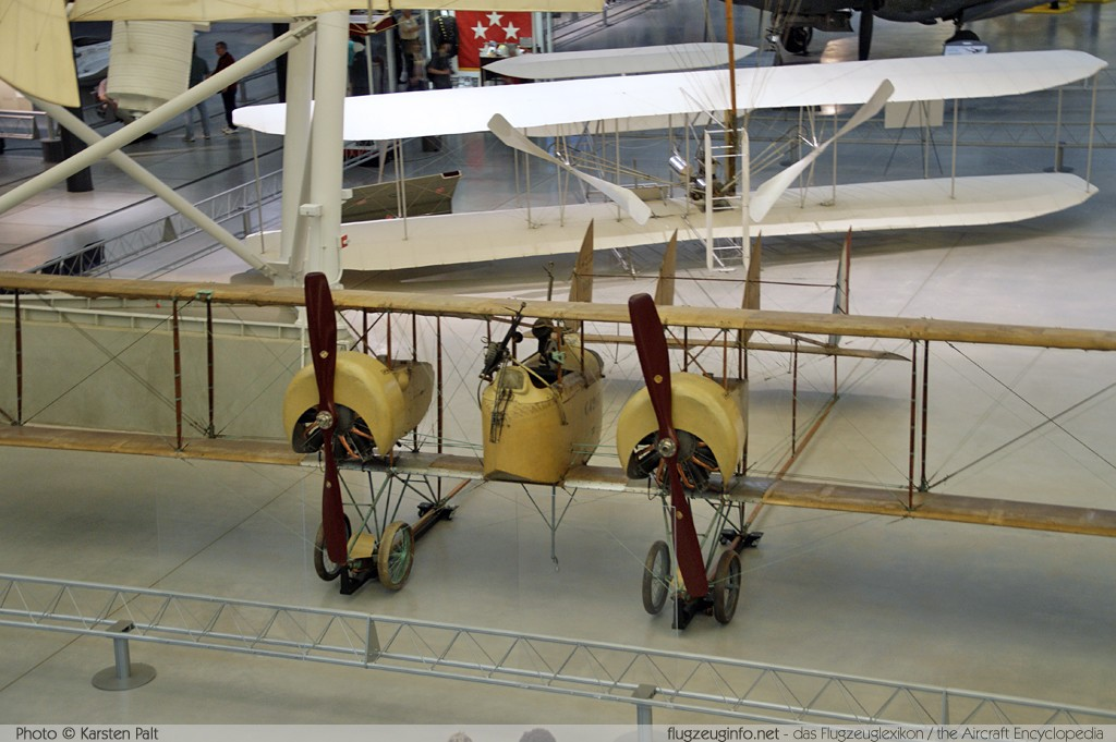 Caudron G.4 French Air Force / Armee de l Air C4263  NASM Udvar Hazy Center Chantilly, VA 2014-05-28 � Karsten Palt, ID 10241
