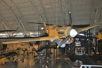Curtiss P-40E Kittyhawk Mk1A Royal Canadian Air Force AK875 15349 NASM Udvar Hazy Center Chantilly, VA 2014-05-28, Photo by: Karsten Palt