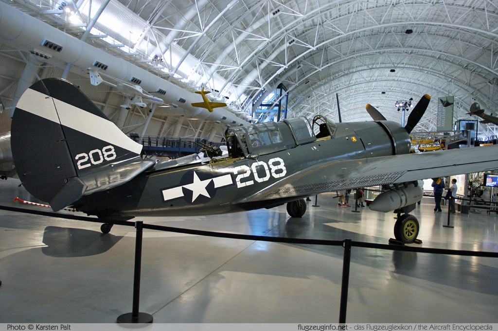 Curtiss SB2C-5 Helldiver United States Navy 83479  NASM Udvar Hazy Center Chantilly, VA 2014-05-28 � Karsten Palt, ID 10258