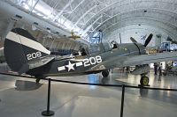 Curtiss SB2C-5 Helldiver United States Navy 83479  NASM Udvar Hazy Center Chantilly, VA 2014-05-28, Photo by: Karsten Palt
