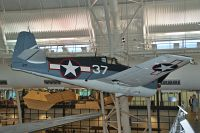 Grumman F6F-3K Hellcat United States Navy 41834 A-3100 NASM Udvar Hazy Center Chantilly, VA 2014-05-28, Photo by: Karsten Palt