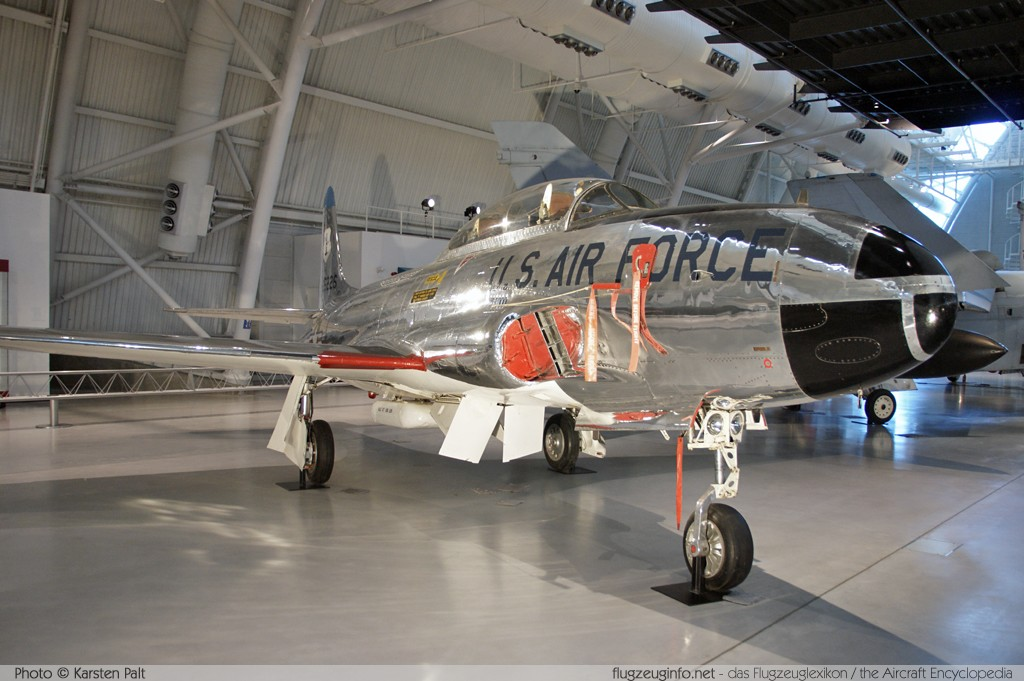 Lockheed T-33A United States Air Force (USAF) 53-5226 580-8565 NASM Udvar Hazy Center Chantilly, VA 2014-05-28 � Karsten Palt, ID 10304
