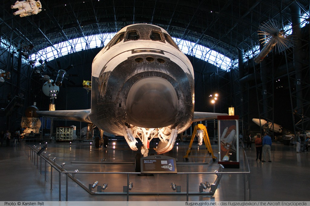 Rockwell Space Shuttle NASA OV-103 OV-103 NASM Udvar Hazy Center Chantilly, VA 2014-05-28 � Karsten Palt, ID 10349