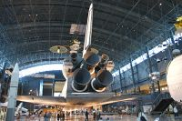 Rockwell Space Shuttle NASA OV-103 OV-103 NASM Udvar Hazy Center Chantilly, VA 2014-05-28, Photo by: Karsten Palt