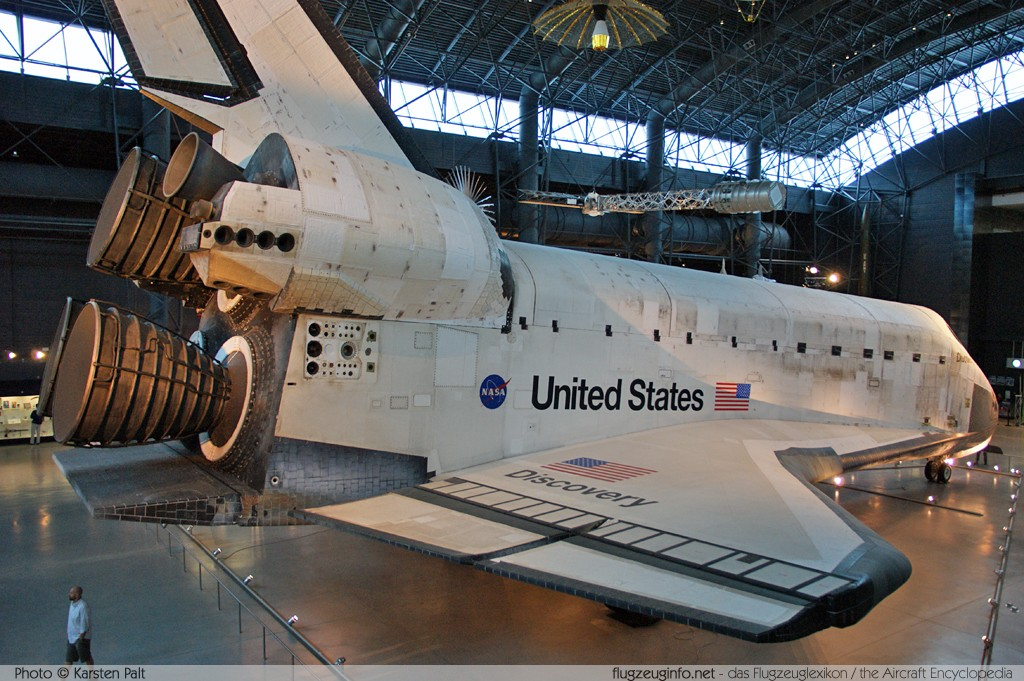 Rockwell Space Shuttle NASA OV-103 OV-103 NASM Udvar Hazy Center Chantilly, VA 2014-05-28 � Karsten Palt, ID 10351