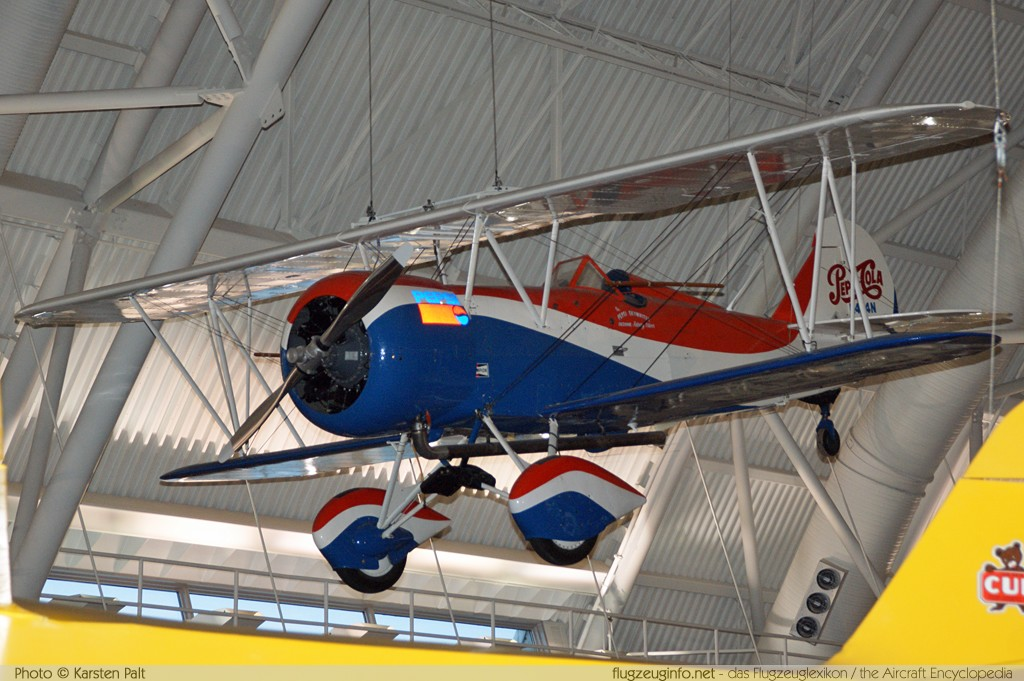 Travel Air 4000 D4D  N434N 1340 NASM Udvar Hazy Center Chantilly, VA 2014-05-28 � Karsten Palt, ID 10364
