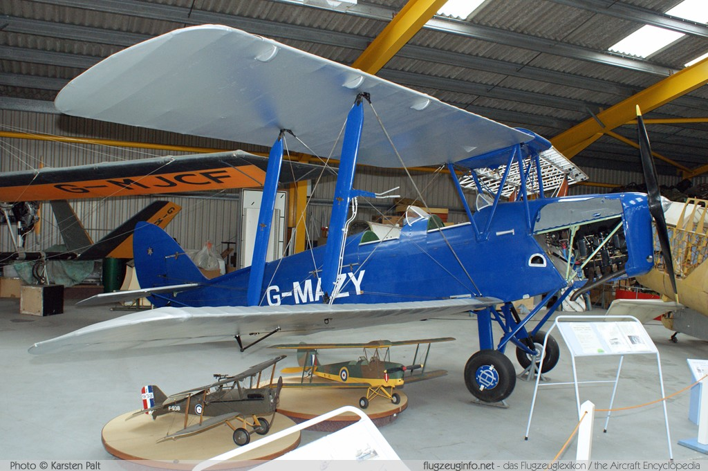 De Havilland DH 82A Tiger Moth II  G-AMBB 85070 Newark Air Museum Winthorpe, Newark 2013-05-18 � Karsten Palt, ID 6924