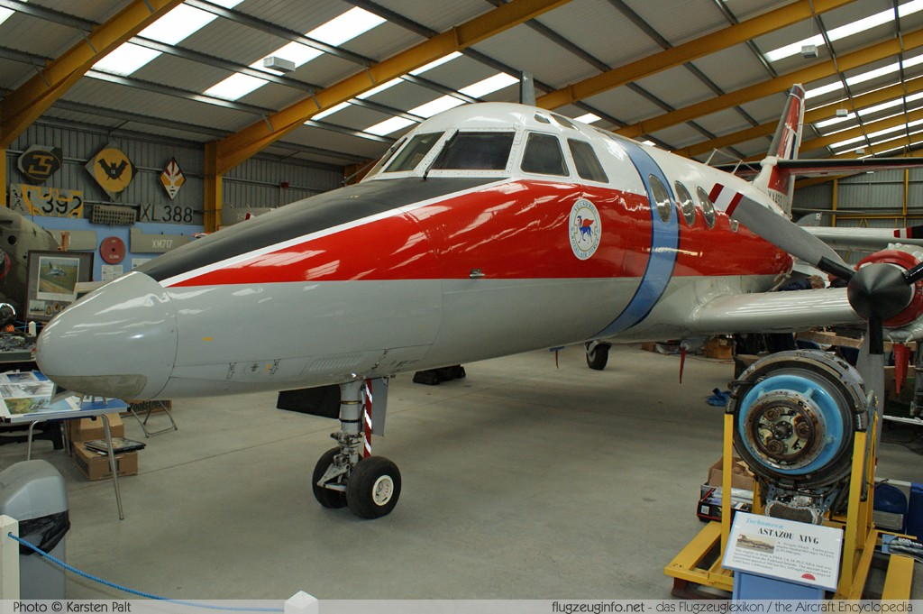 BAe Jetstream 31 T Mk.1 Royal Air Force XX492 274 Newark Air Museum Winthorpe, Newark 2013-05-18 � Karsten Palt, ID 6937