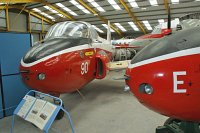 BAC P.84 Jet Provost T3A Royal Air Force XM383 PAC/W/6610 Newark Air Museum Winthorpe, Newark 2013-05-18, Photo by: Karsten Palt