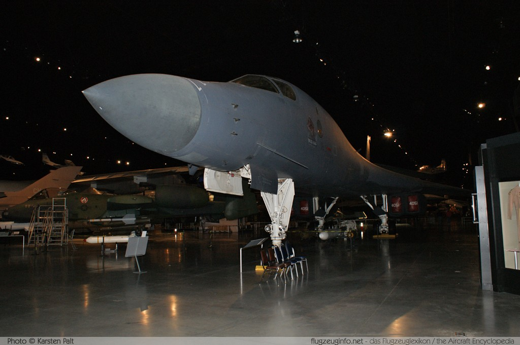 Rockwell B-1B Lancer United States Air Force (USAF) 84-0051 11 National Museum of the United States Air Force Dayton, Ohio / USA (Wright-Patterson AFB) 2012-01-11 � Karsten Palt, ID 5326
