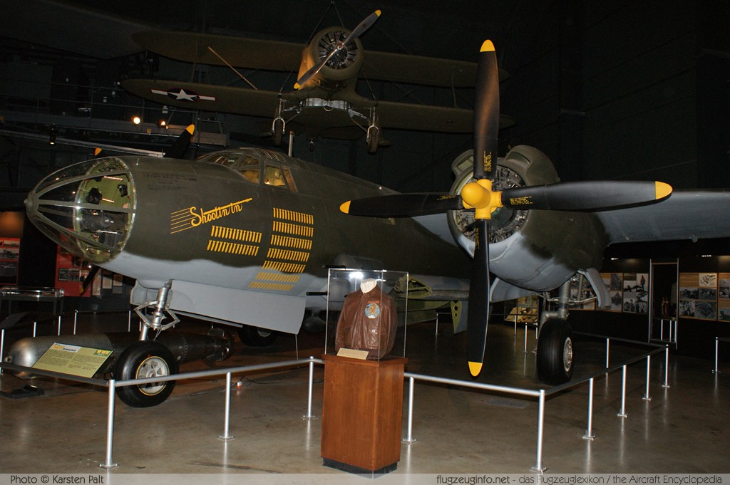 Martin B-26G Marauder United States Army Air Forces (USAAF) 43-34581 8701 National Museum of the United States Air Force Dayton, Ohio / USA (Wright-Patterson AFB) 2012-01-11 � Karsten Palt, ID 5334