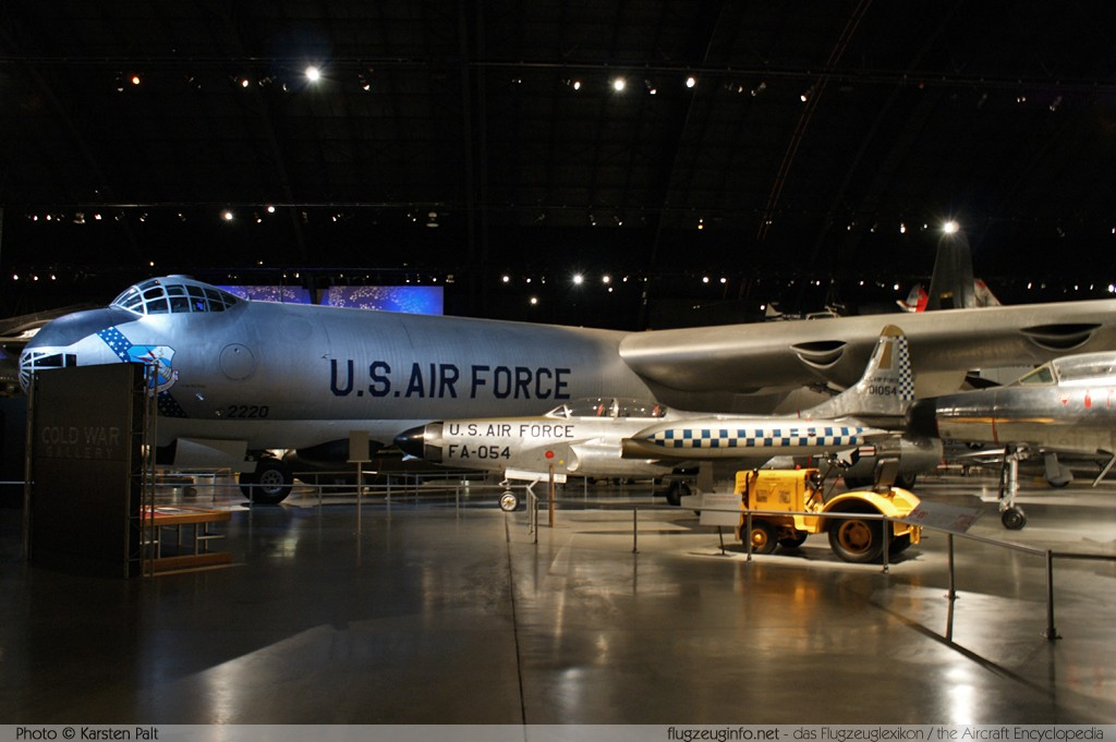 Convair B-36J Peacemaker United States Air Force (USAF) 52-2220 361 National Museum of the United States Air Force Dayton, Ohio / USA (Wright-Patterson AFB) 2012-01-11 � Karsten Palt, ID 5336