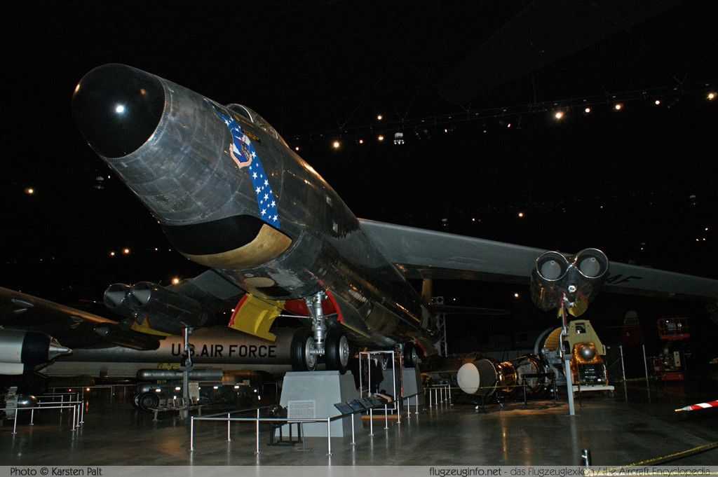 Boeing RB-47H Stratojet United States Air Force (USAF) 53-4299 4501323 National Museum of the United States Air Force Dayton, Ohio / USA (Wright-Patterson AFB) 2012-01-11 � Karsten Palt, ID 5488