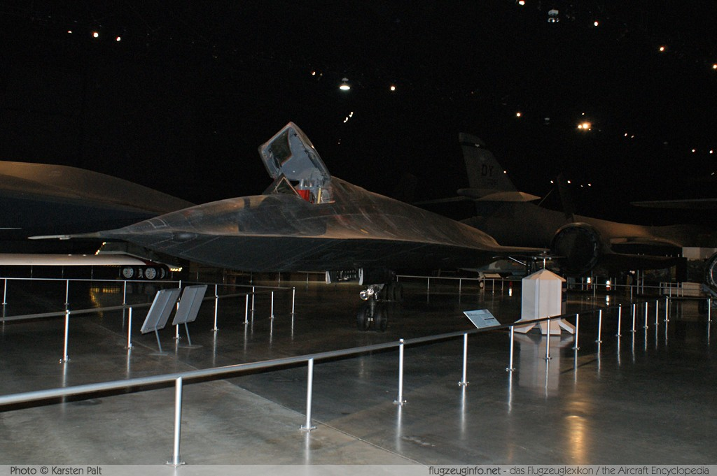 Lockheed SR-71A Blackbird United States Air Force (USAF) 61-7976 2027 National Museum of the United States Air Force Dayton, Ohio / USA (Wright-Patterson AFB) 2012-01-11 � Karsten Palt, ID 5503