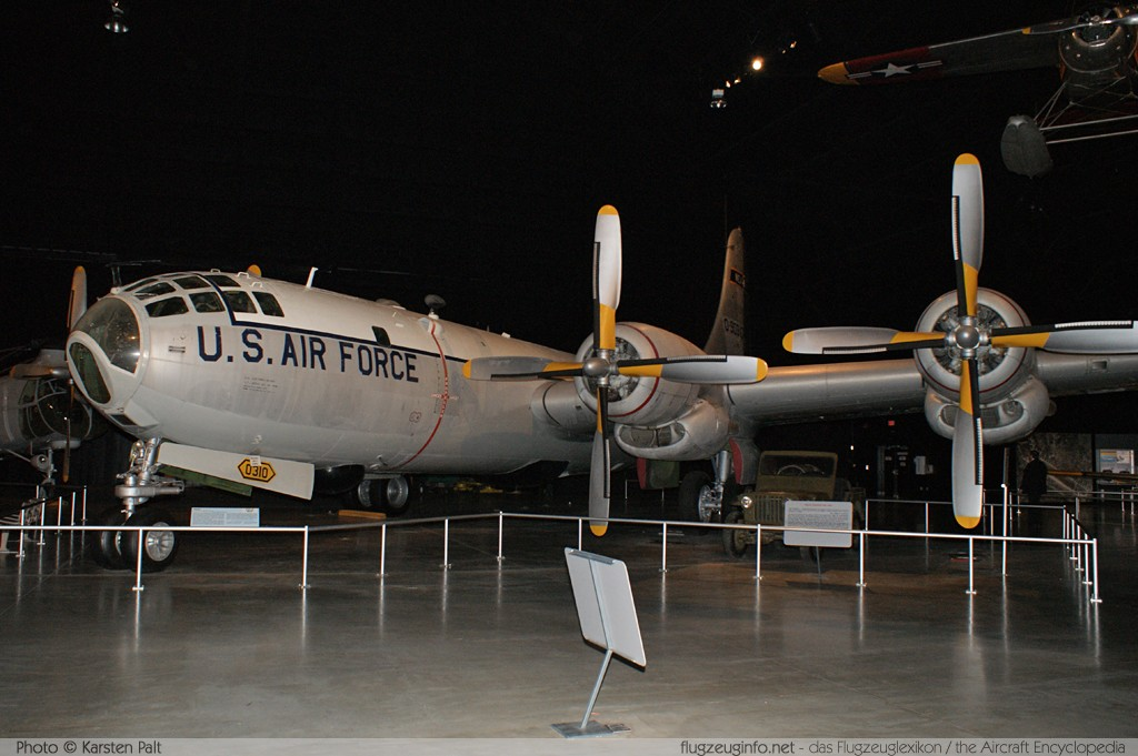 Boeing WB-50D Superfortress United States Air Force (USAF) 49-0310 16086 National Museum of the United States Air Force Dayton, Ohio / USA (Wright-Patterson AFB) 2012-01-11 � Karsten Palt, ID 5520
