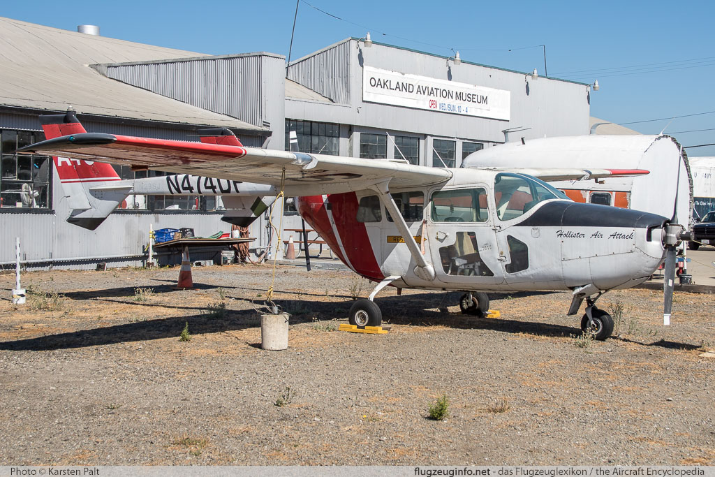 Cessna O-2A (M337B) Super Skymaster California Department of Forestry N474DF 337M0318 Oakland Aviation Museum Oakland, CA 2016-10-09 � Karsten Palt, ID 13164
